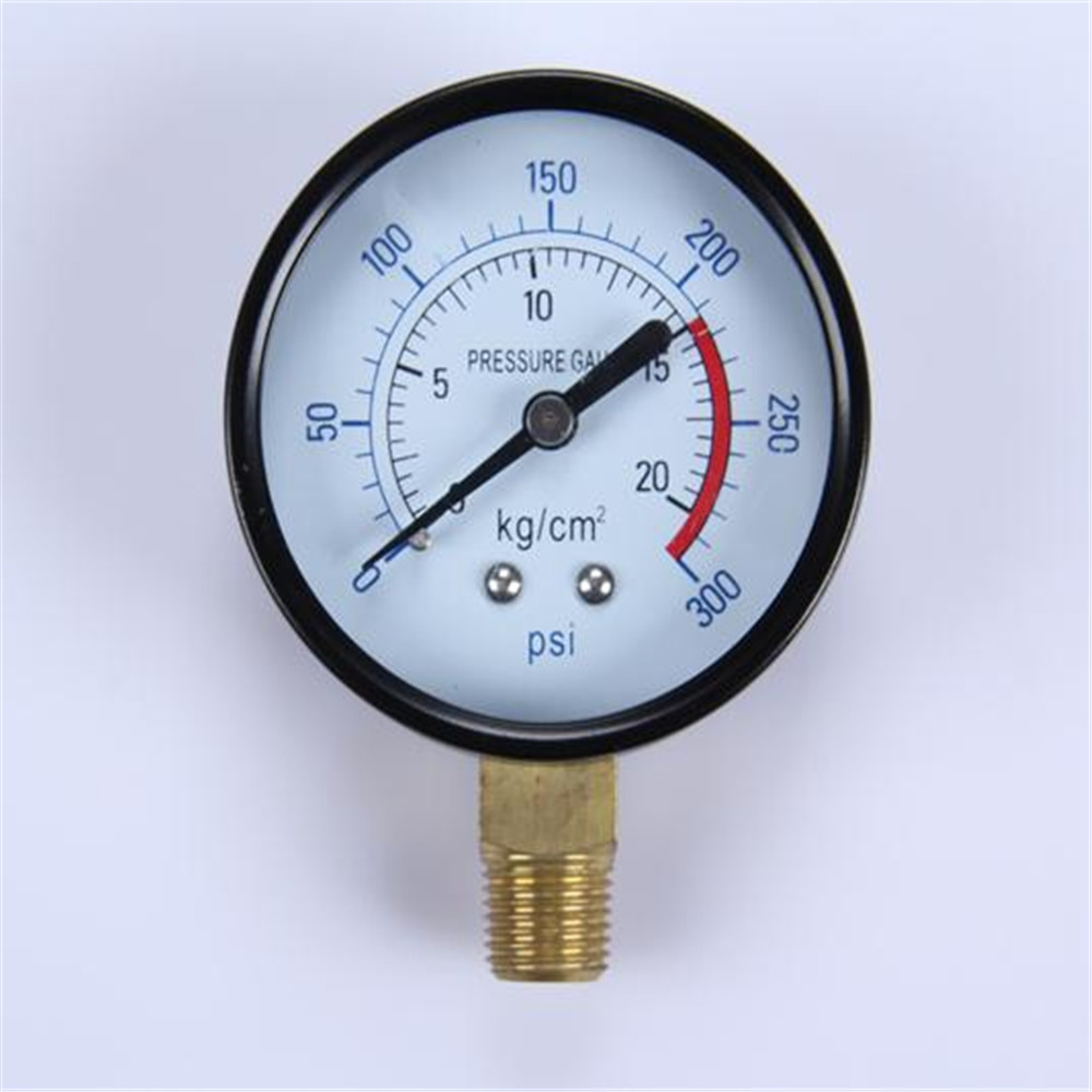 Hot Selling New Design Clear 0-600 Bar Dial Plate Air Pressure Manometer
