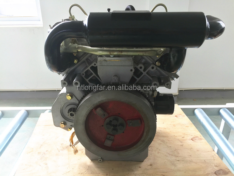Water Cooled 2 cylinder 4stroke Rated Power 12-14KW 20 HP Diesel Engine Small Marine Inboard Diesel Engine