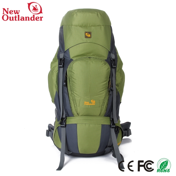 2016 New design 80L outdoor sport bag mountaineering backpack nylon hiking backpack