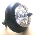 24v 250w electric wheelchair electric car brushless gearless dc motor