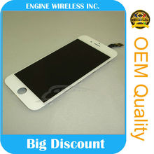 alibaba china for iphone 6g lcd with frame top quality 100% original