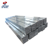Premium quality 10x10 100x100 steel square tube supplier Q235 Gi Welded Square Pipe In China