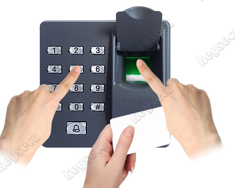 Rugged Elegant Design Secure Standalone Fingerprint Access Control Keypad