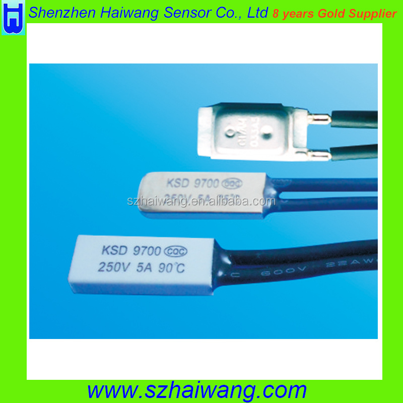 Hot temperature thermal protector thermal protector 250v 5a Temperature Control Switch