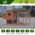 CC004L large wooden chicken laying egg cage