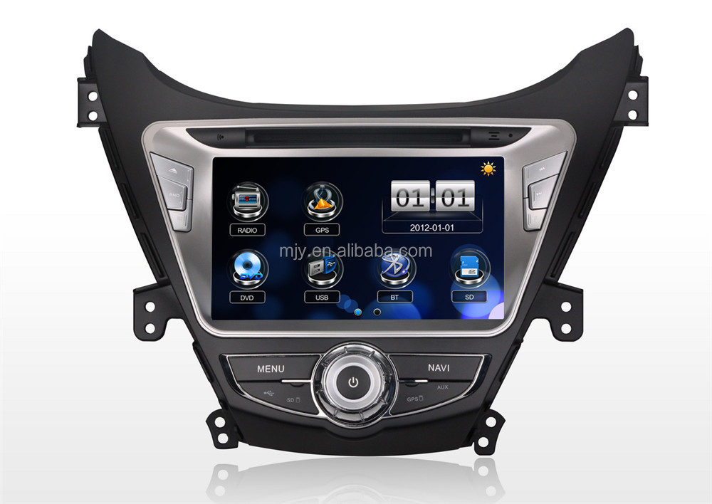 Year 2012 Car DVD GPS Navigation System for Hyundai Elantra