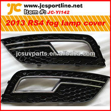 2013 A4 RS4 style fog lamp grill grille grid cover for Audi A4 S4