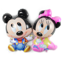 Custom made Mickey mouse shaped foil balloon for cartoon character