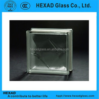 Hexad Clear Frost Bistar Decorative Building Glass Blocks