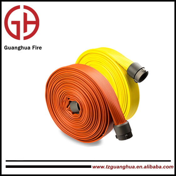 fire hose and fire hose reel all rubber covered for industry