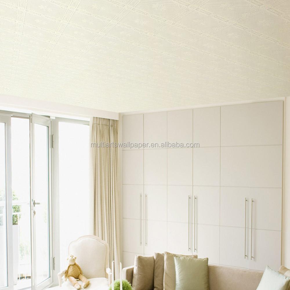 Interior Home Decor 3d Soffitto carta da parati Impermeabile ...