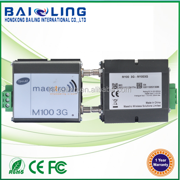 Vending Machine Control,Agricultural Irrigation RS485 Maestro 100 Industrial usb Micro sim Modem 3g Support Open AT,GPS
