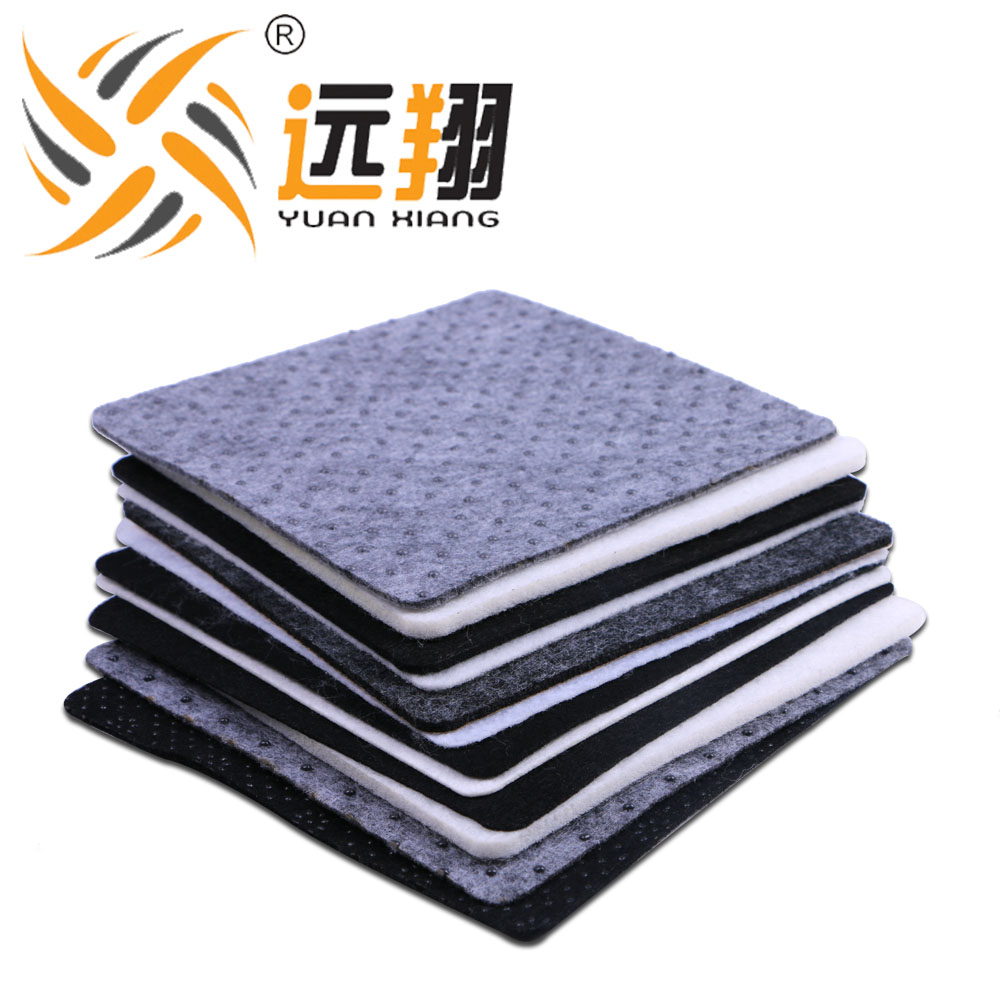 Free PVC Dot Coated Needle Punched Non Woven Fabric For Carpet Backing Cloth