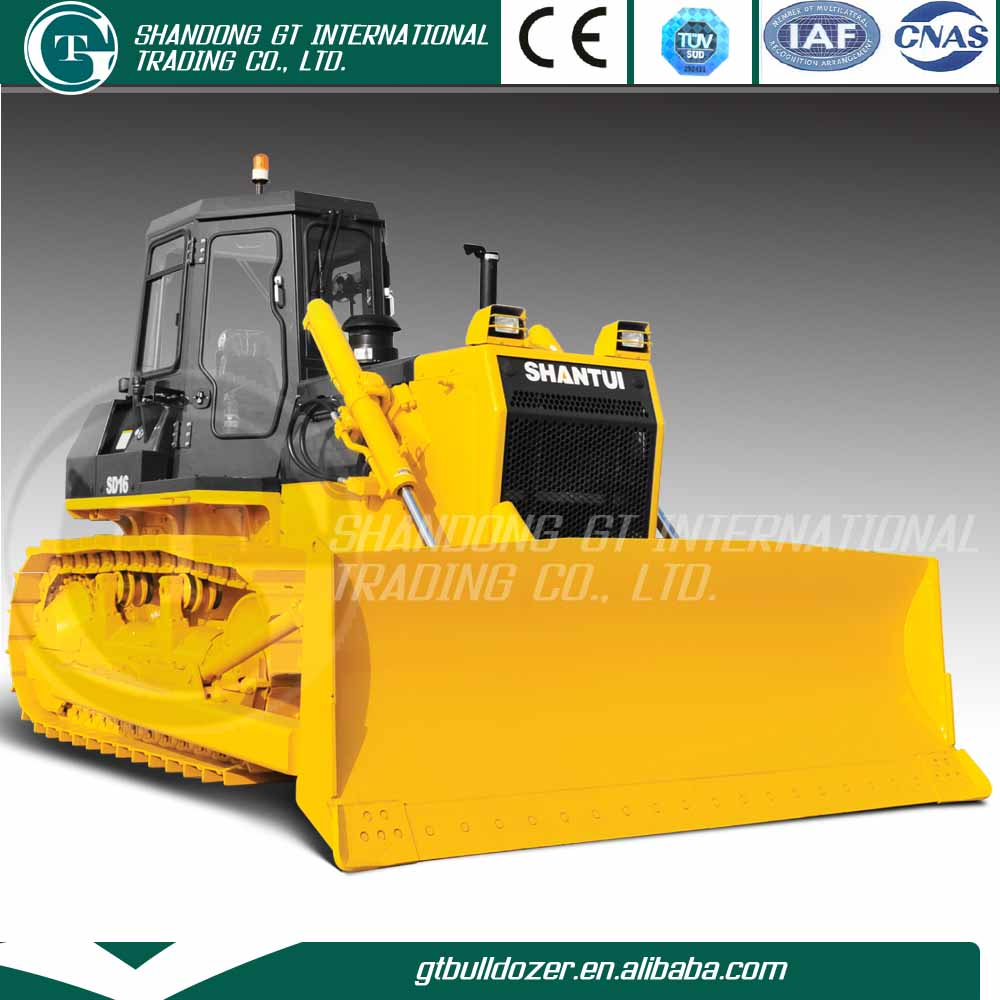 SHANTUI brand mini dozer for sale SD16, chinese small dozer for sale , mini bulldozer d16