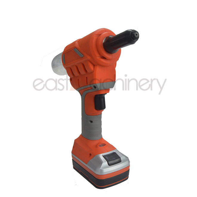 18V 2.0Ah 9000N.m Li-ion Cordless Battery Coil Nail Gun Nailer Riveting Gun