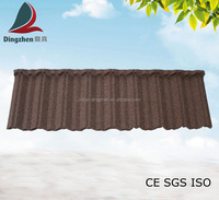 Classic Type DZ-2009 Stone Coated Metal Roofing Tiles