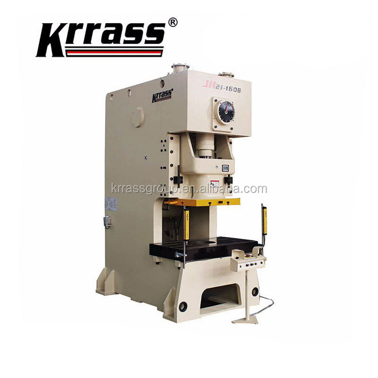 wholesaler price KRRASS aluminum metal hole making machine light guard safe puncher high speed pneumatic stamping power press