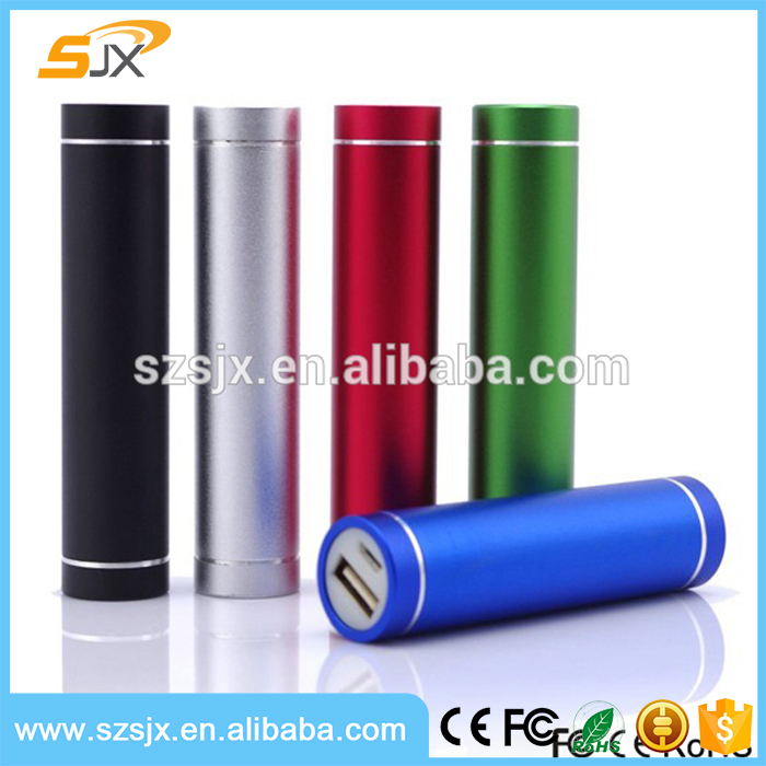 Universal Cylinder Mini Power Bank 2200mah Portable Charger for Cell Phone