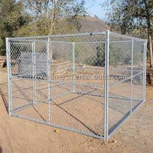 large dog run chain link animal cage/soft portable garden dog fence panel