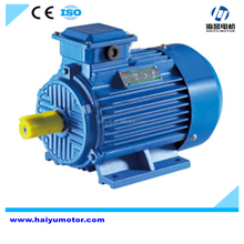 High efficiency electric motor 7hp, three phase motor connection star delta, air compressor motor 2hp