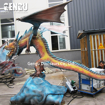 High quality chinese dragon resin statue for sale