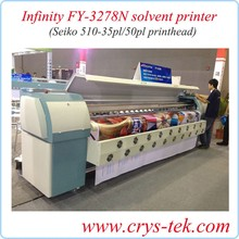 Infiniti FY-3208H 3.2M solvent printer with head spt510_50pl