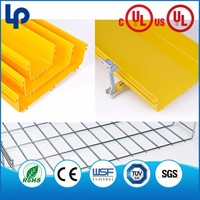 q235 wire mesh cable tray , steel wire mesh cable tray for 5a class office