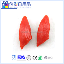 imulation Sushi Plastic Fake Sushi red meat for Decoration
