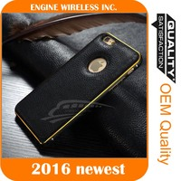 New Luxury Leather Back Case Bumper Cover for samsung galaxy note 3 case