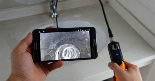 WiFi Inspection Snake Camera Borescope Endoscope for iPad IPhone Samsung Huawei