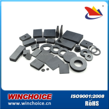 Y35 Sintered Ring Ceramic Ferrite Magnets In Loudspeakers High Plasticity