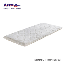 protable memory foam topper travel topper thin mattress