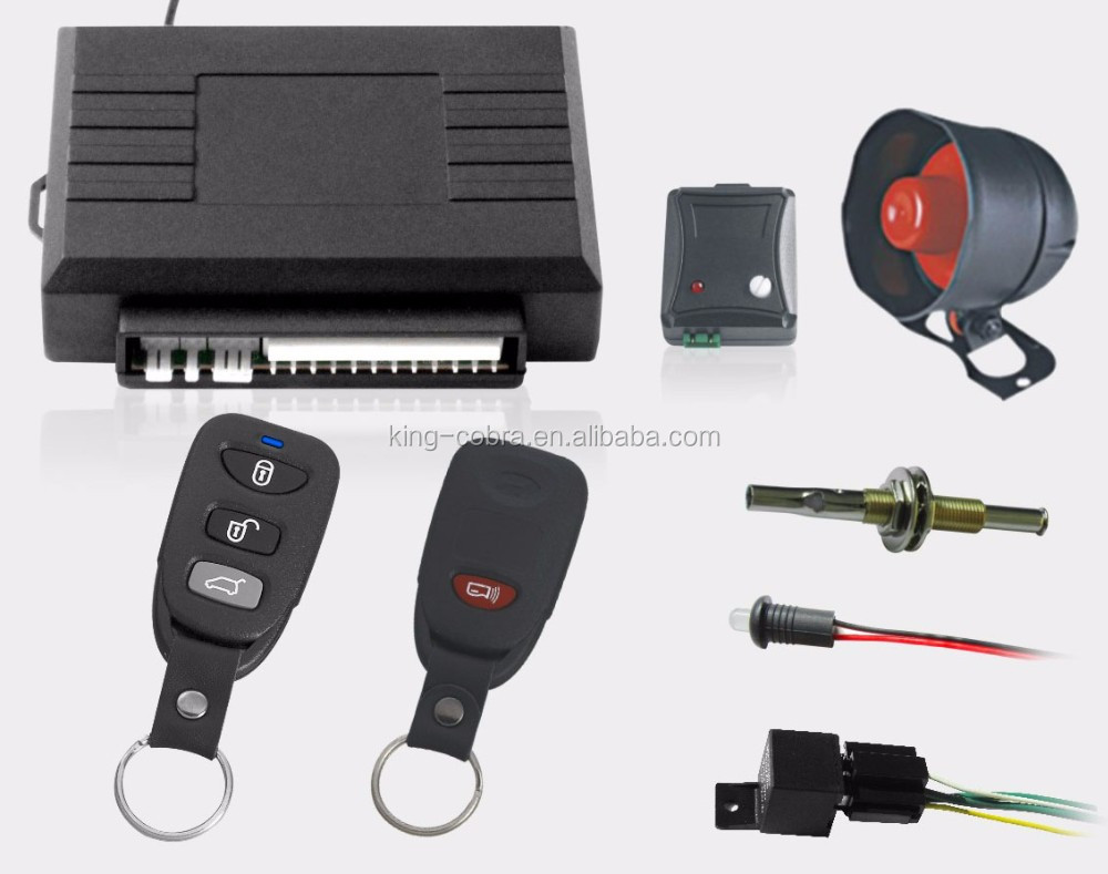 Anti-theft Remote Control Alarm Blocker System