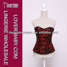 Tight Lace Up Butt Lift Shapers Corset For Private Clubs