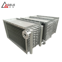 fan steam heat exchanger for High Frequency Vacuum timber dryer /wood drying kiln