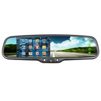 GERMID JM-043LA rearview mirror radar detector GPS navigation+WinCE system+bluetooth handsfree
