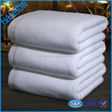 100% cotton hotel bathroom towel sets/3 luxury high quality, quick-dry eco-friendly white cotton hotel towels