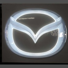Wholesale Price 3D free standing car logo and name