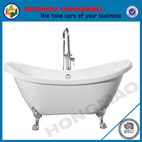 Acrylic transparent bathtub freestanding acrylic bathtub