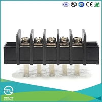 UTL Best Selling Products In America Electrical Quick Connector 6 Pin BU Barrier Terminal Block Pitch 9.5mm Free Samples
