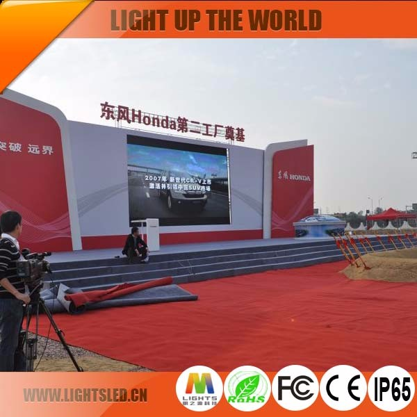 Outdoor LED Advertising Screen Price P10 Portable LED Screen For Conference Manufacturer China