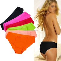 Women's seamless Panties invisible panties Candy Colors Factory Price