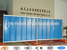 factory supply 1.8x2.24m temporary corrugate colorbond steel hoarding panels fencing