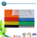 China manufacturer twinwall polypropylene corpac polyflute fluted correx pallet layer pad for floor protection