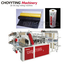 [CHOVYTING]CP-600RT computer cutting-off continous-roll bag making machine