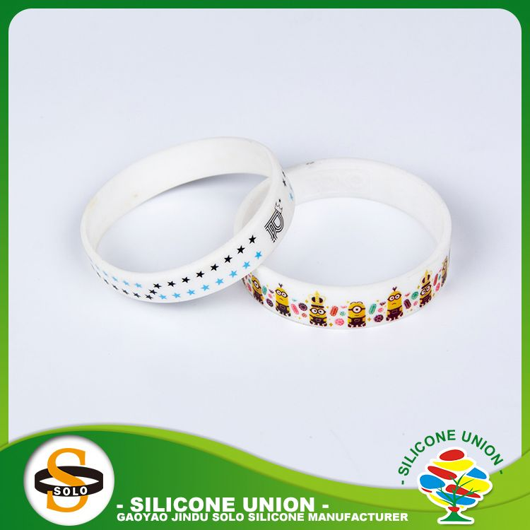 Wholesale china rubber personalized silicone bracelets