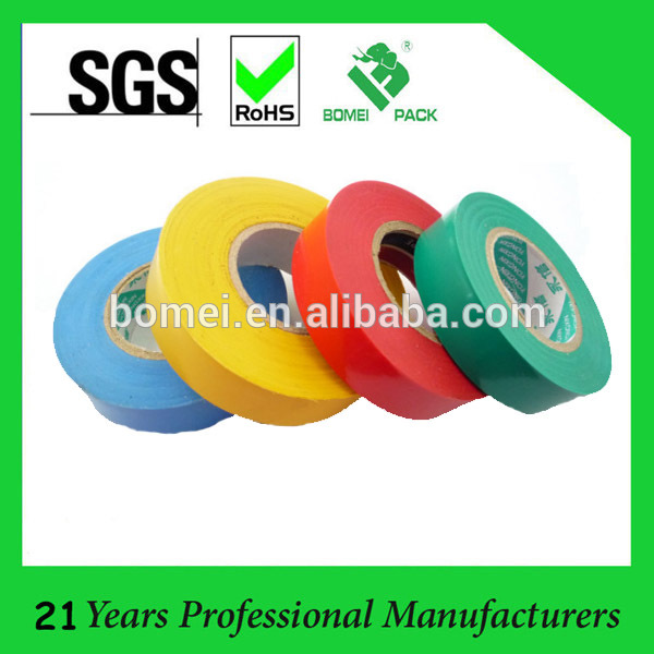 Hot Sell heat resistant fireproof tape PVC Insulation Electrical tape