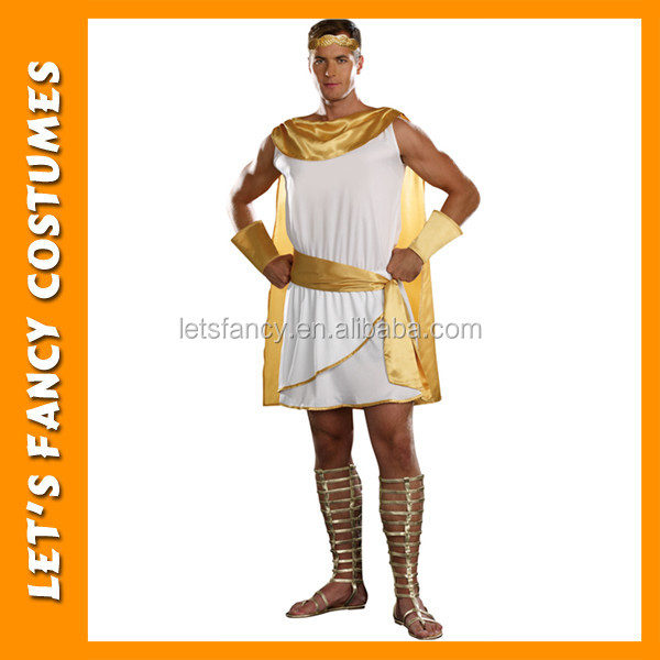 Greek God or Goddess Costume Great Toga Fancy Dress PGMC0894