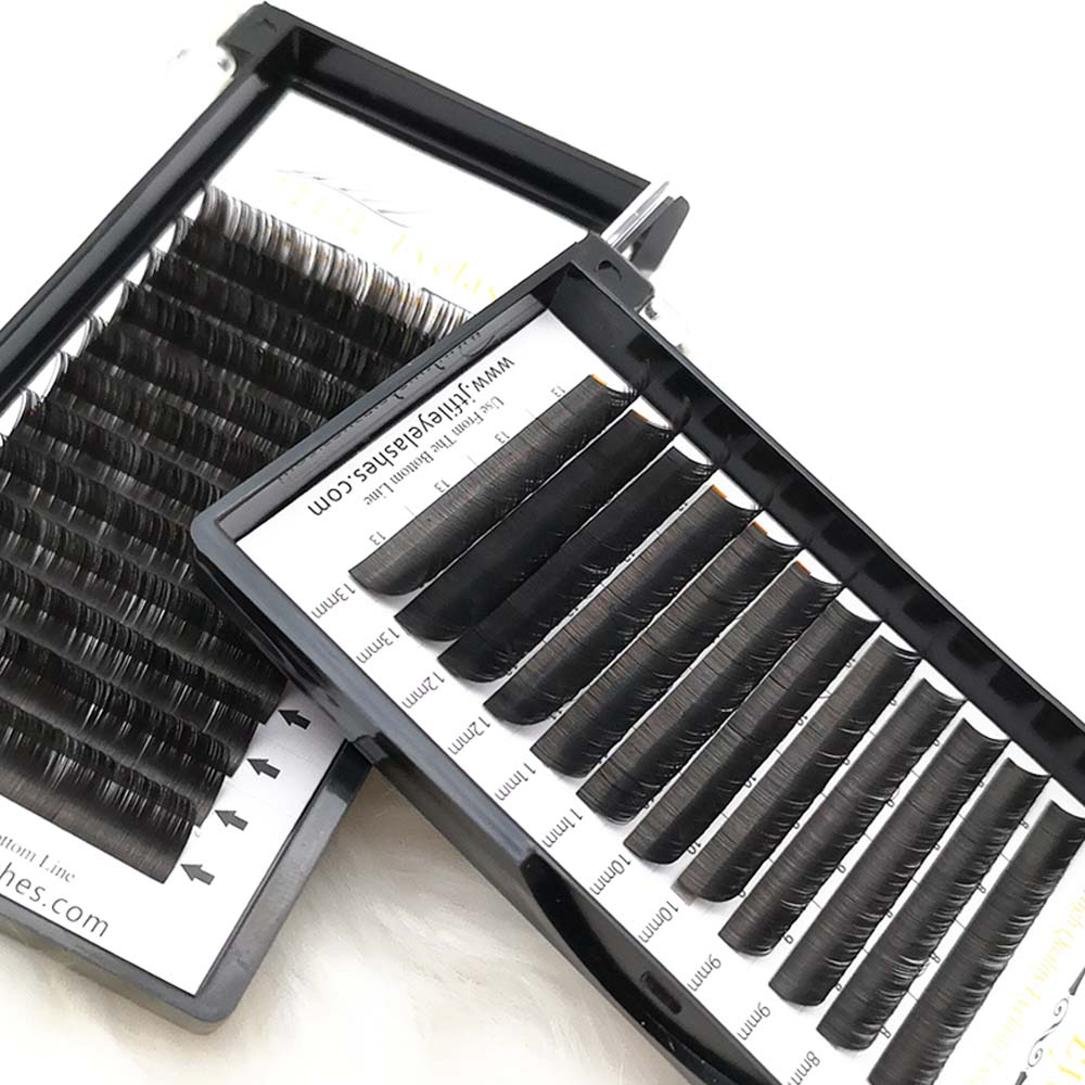 best quality eyelash extension fiber mink lashes palette lightweight eyelash Air <strong>Flat</strong> Lashes