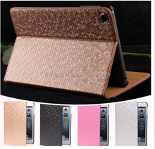 Luxury Diamond Pattern Flip Leather Case Cover for ipad Air 1 2 Pro